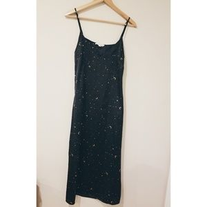 Honey Punch Moon and Stars Slip Dress